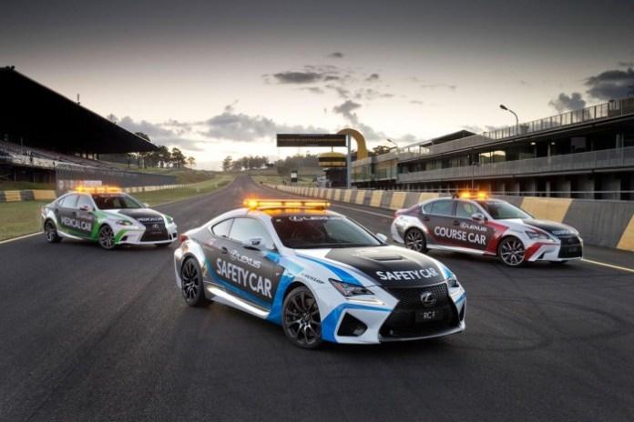 Lexus RC F Safety Car 2