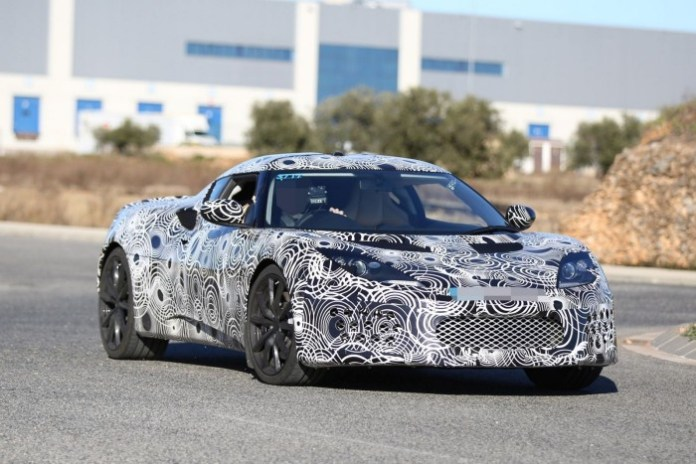Lotus Evora facelift 2016 spy photo (17)