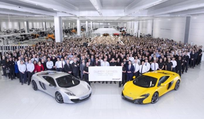 McLaren production