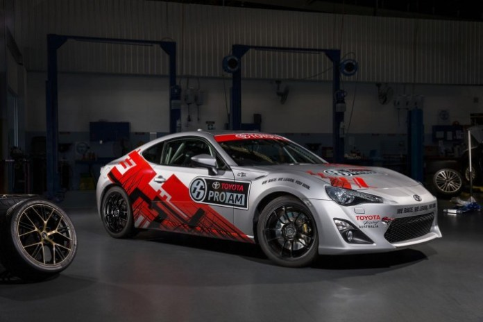 TOYOTA 86 PRO-AM RACE CAR 6