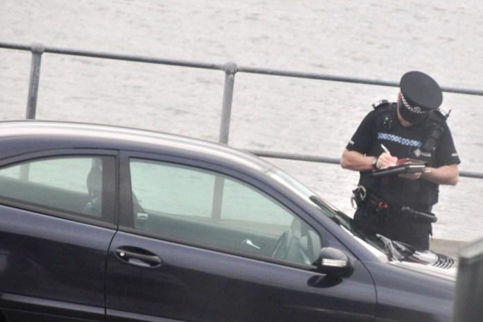 police speed ticket europe