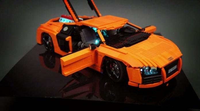 Audi R8 Lego