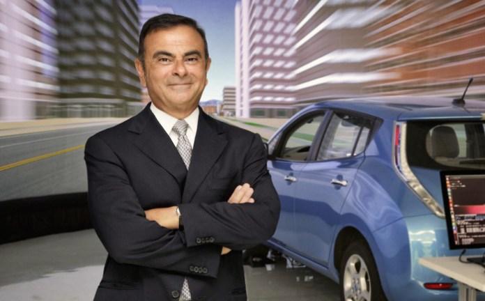 Carlos Ghosn comparte su perspectiva sobre tecnología de conduc