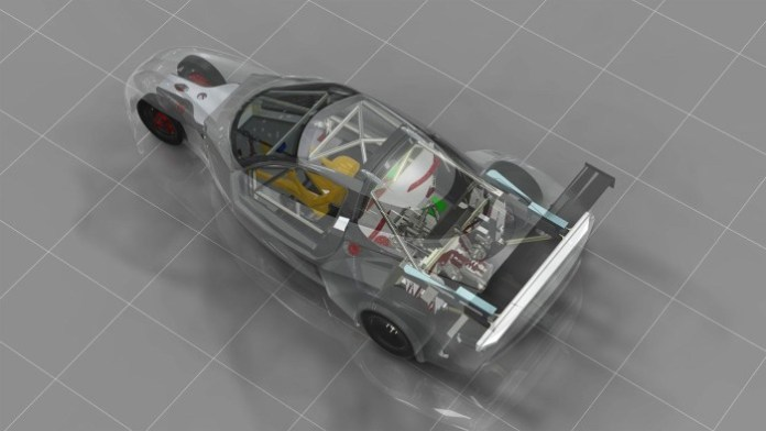 DeltaWing GT chassis 2