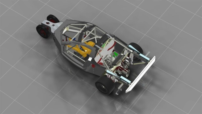DeltaWing GT chassis 4