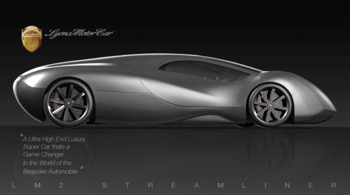 Lyons Motor Car LM2 Streamliner 1