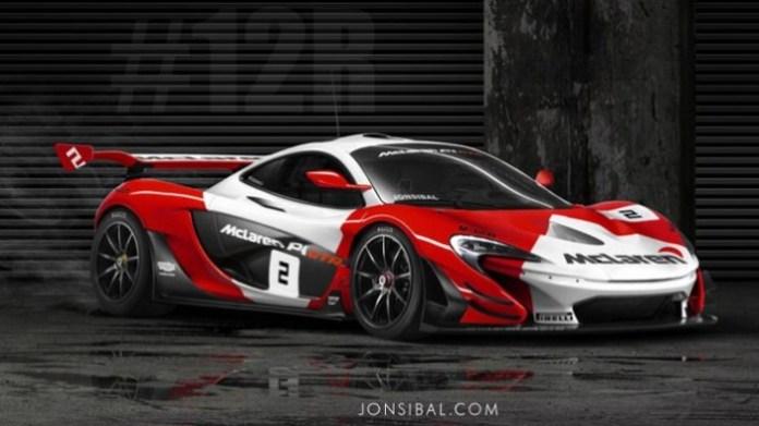 McLaren P1 GTR Liveries (4)