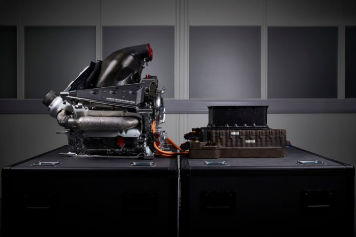Mercedes PU106B Hybrid