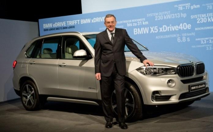 BMW Bilanz-Pressekonferenz