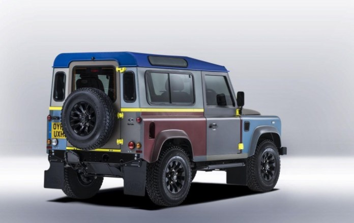 Paul Smith Land Rover Defender 4