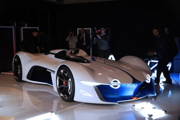 Renault shows Alpine Vision Gran Turismo