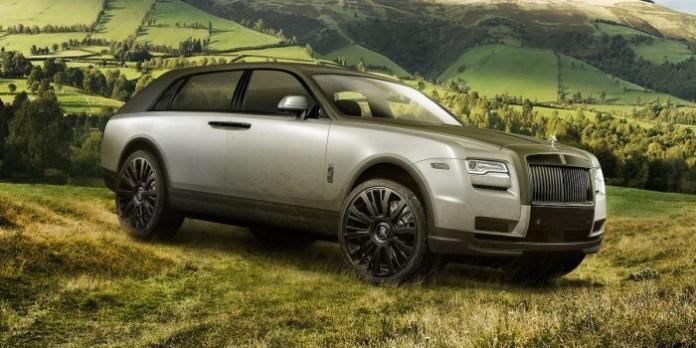 Rolls-Royce SUV Renderings (1)