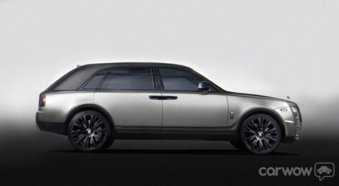 Rolls-Royce SUV Renderings (4)