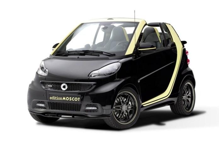 Smart ForTwo Cabrio edition MOSCOT 1