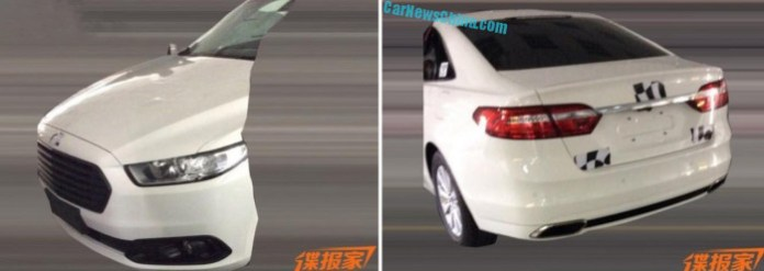 mondeo facelift china spec