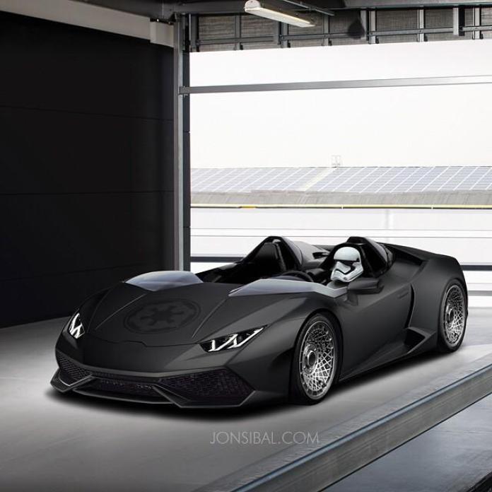 Lamborghini Huracan render / JONSIBAL