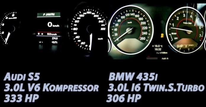 Audi S5 Vs 435i