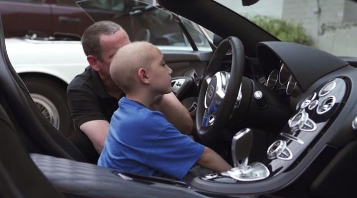 Child Bugatti Ride