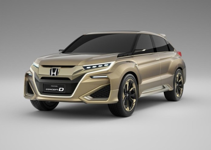 Honda Concept D 1