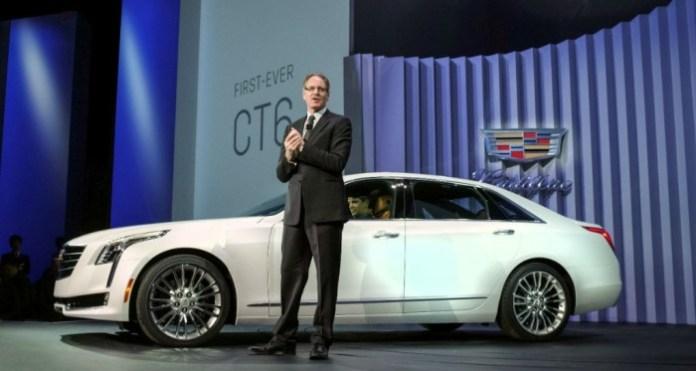 Johan de Nysschen Cadillac CT6