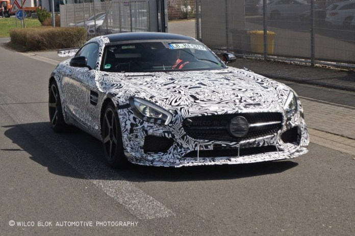 Mercedes-AMG GT3 roal-legal spy photos (1)