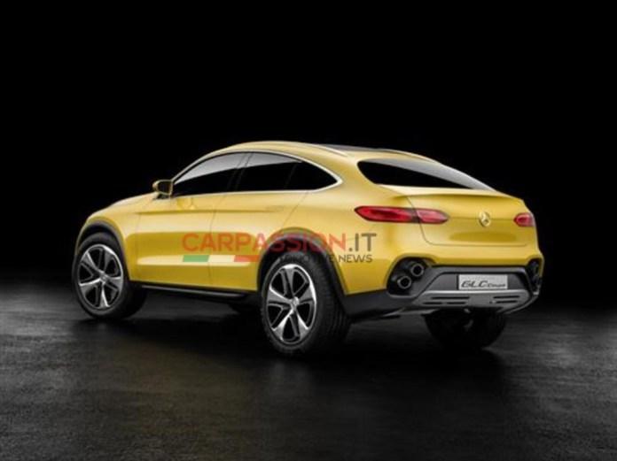 Mercedes-Benz GLC Coupe concept leaked photos (4)