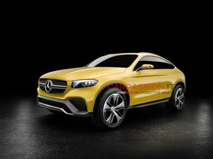 Mercedes-Benz GLC Coupe concept leaked photos (5)