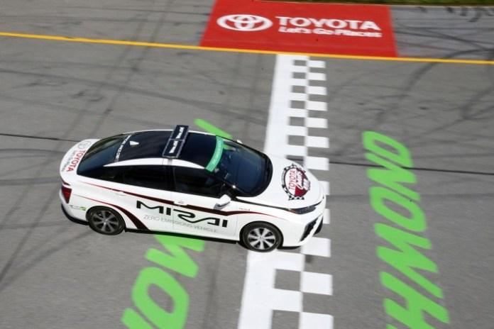 Toyota Mirai pace car 2