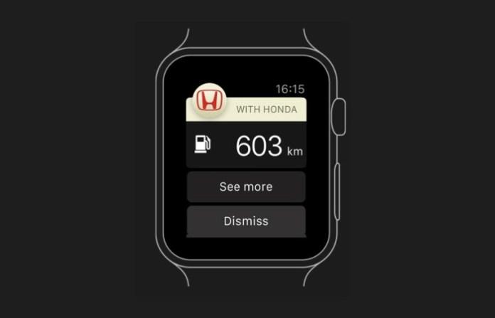 apple watch honda