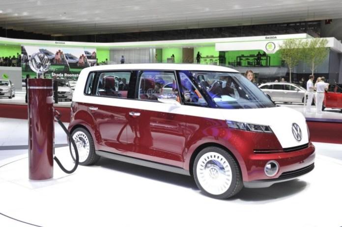 Volkswagen Bulli concept Live in Geneva 2011
