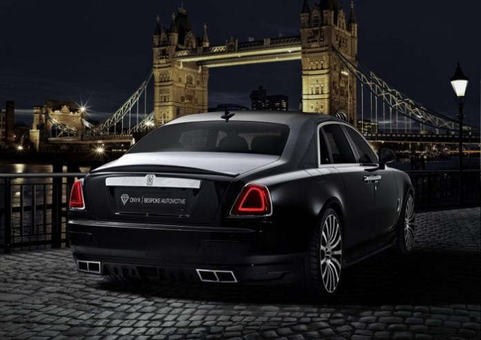 Onyx Concept Roll-Royce Ghost San Moritz