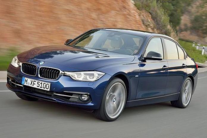 2015 BMW 3-Series facelift leaked official image 8