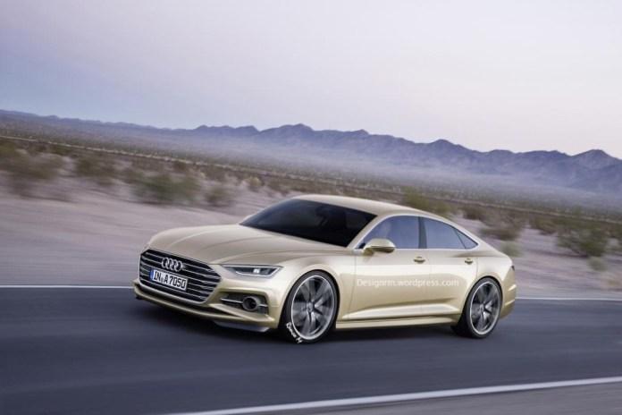 Audi A7 Sportback rendering (1)