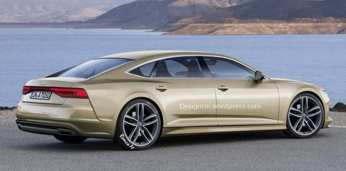 Audi A7 Sportback rendering (2)