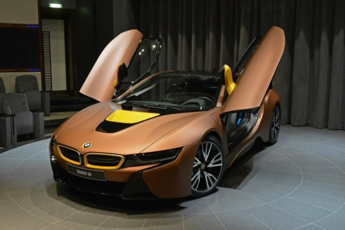 BMW i8 and 7 Series with individual colors (10)
