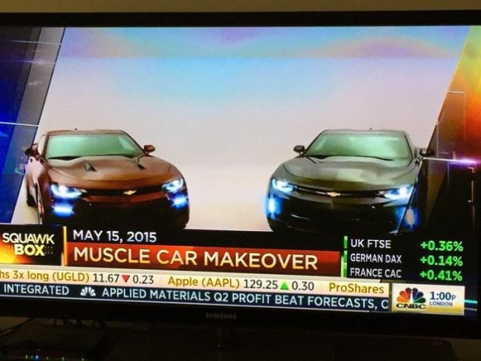 Chevrolet Camaro 2016 leaked (1)