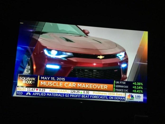 Chevrolet Camaro 2016 leaked (3)
