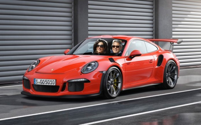 George Clooney 911 GT3 RS