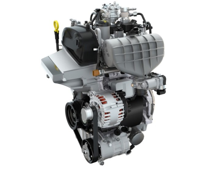 High-performance 3-cylinder-TSI