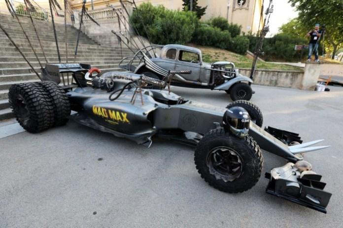 Mad Max Lotus F1