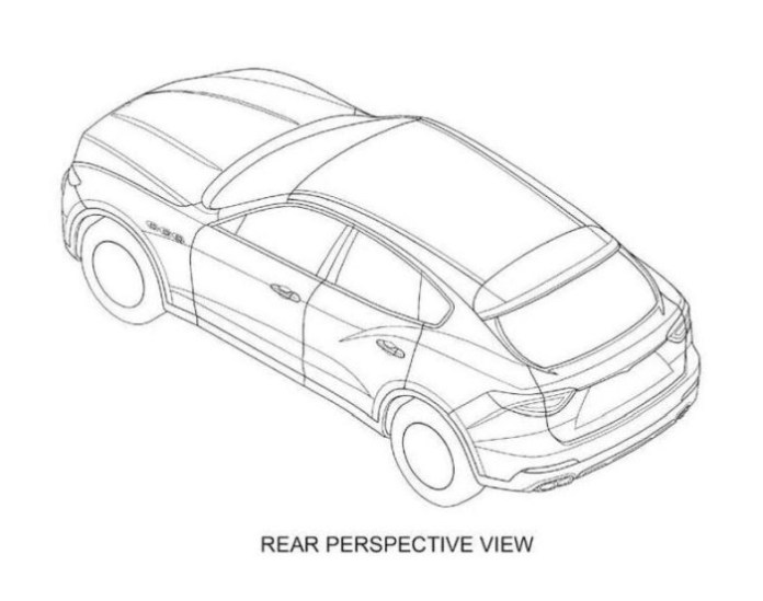 Maserati Levante patent image 7