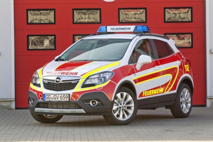 Opel Mokka emergency vehicle (1)