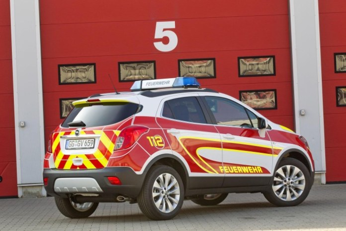 Opel Mokka emergency vehicle (2)
