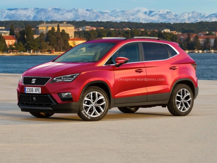 Seat ibiza subcompact crossover rendering (1)