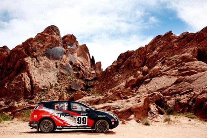 Toyota RAV4 rally car 3