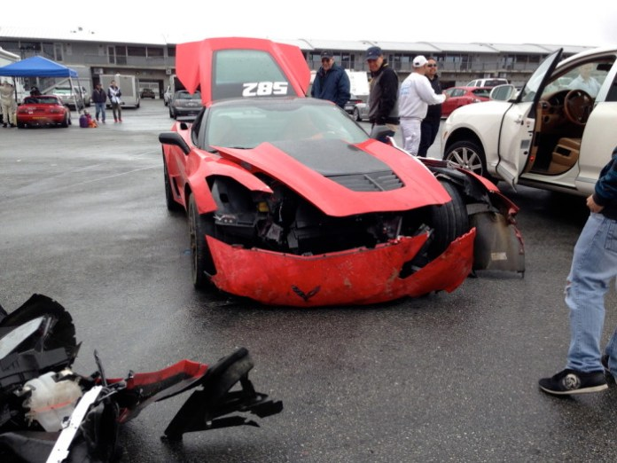 hevrolet Corvette Z06 crash (2)