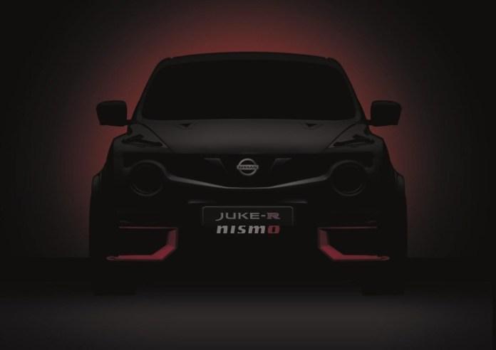 2015 Nissan Juke-R NISMO teaser
