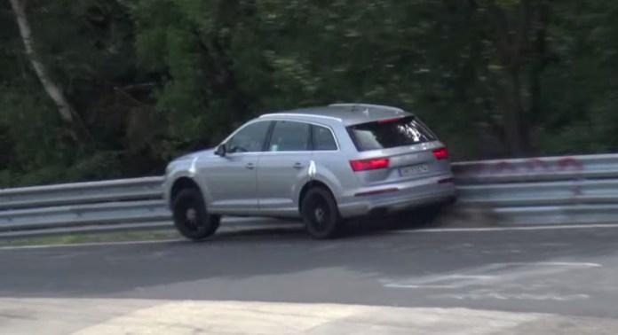 2016 Audi SQ7 CRASH at the Nurburgring