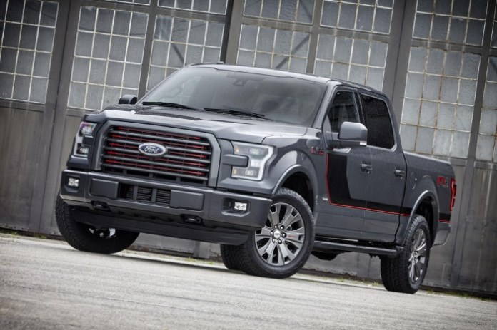 2016 FORD F-150 LARIAT APPEARANCE PACKAGE 1