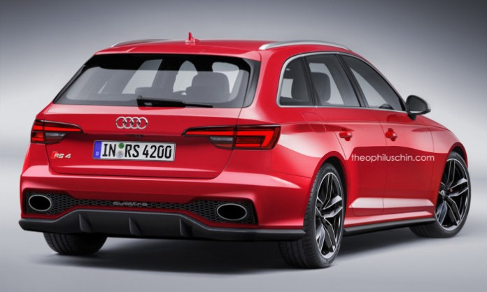 Audi-Rs4-rendering